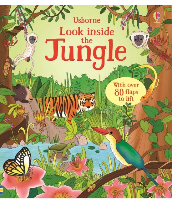 Look inside the Jungle - Usborne look inside