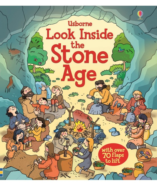 Look inside the Stone Age - Usborne look inside