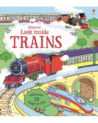 Look inside Trains - Usborne look inside