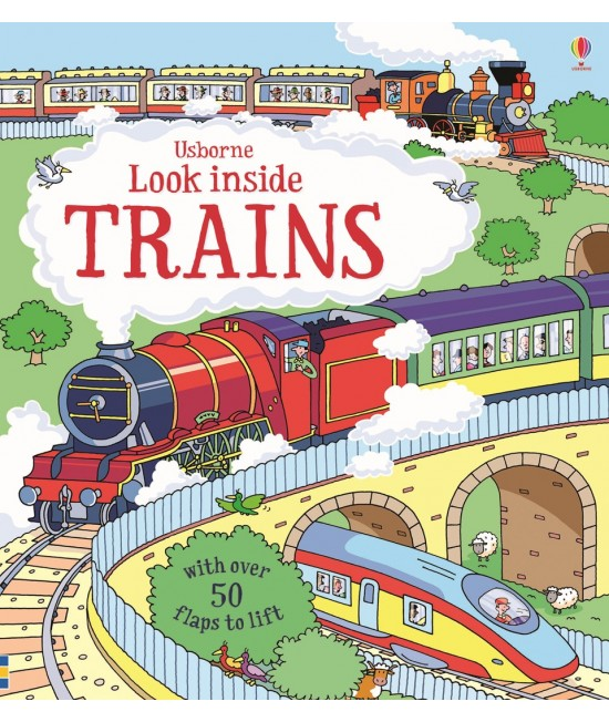 Look inside Trains - Usborne look inside