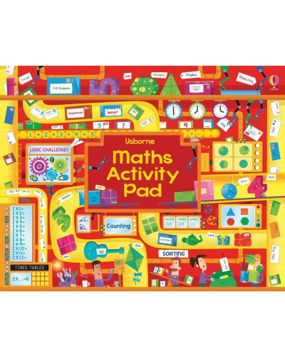 Maths activity pad - Tear-off pads