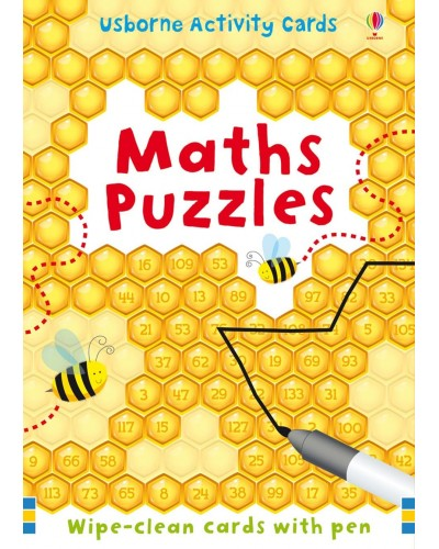 Maths puzzles - Activity cards and tins