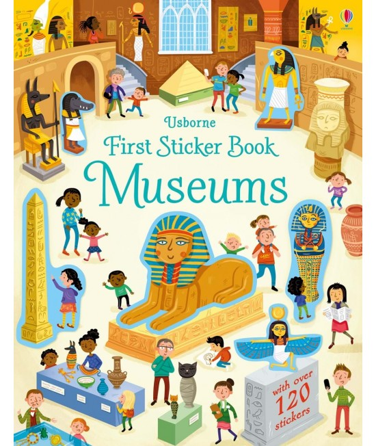 Museums - Usborne First Sticker Book - Wesley Robins