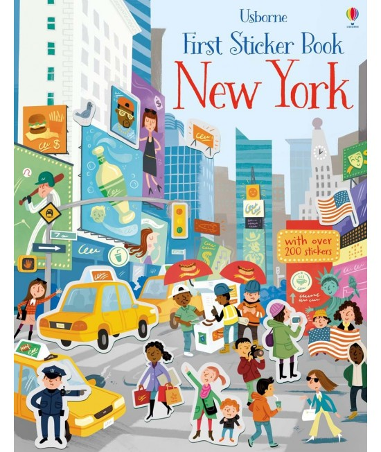 New York - Usborne First Sticker Book