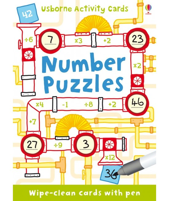 Number puzzles - Activity cards and tins
