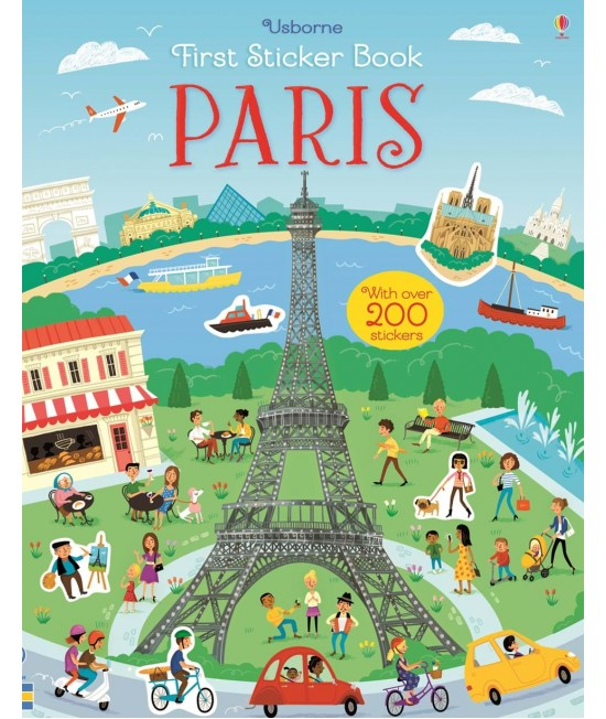 Paris - Usborne First Sticker Book