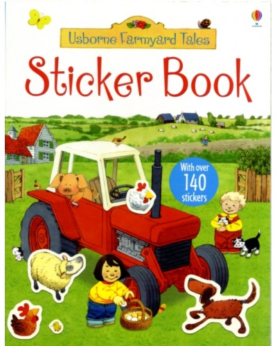 Sticker book - Usborne Farmyard Tales