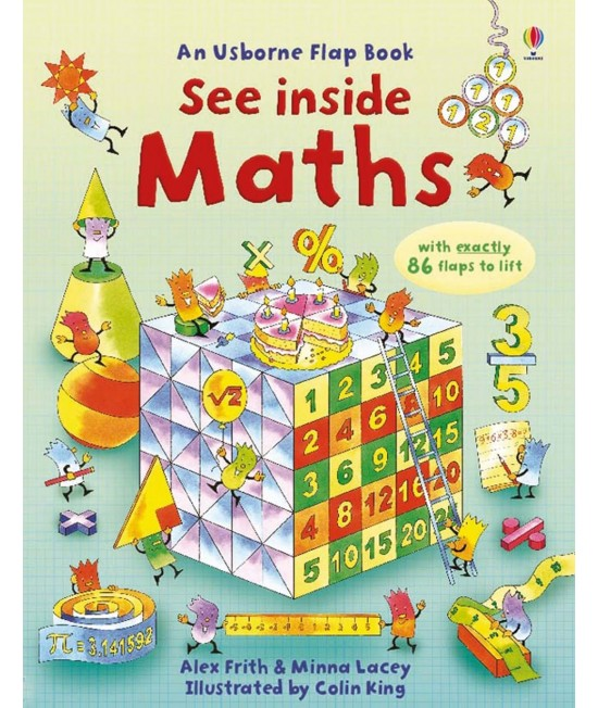 See inside Maths - An Usborne Flap Book - Alex Frith, Minna Lacey & Colin King