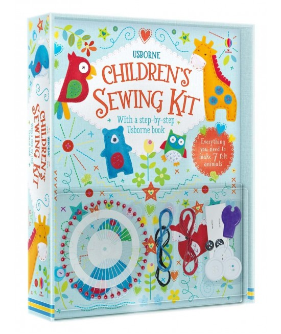 Children's Sewing Kit - Usborne Art and Craft, Knitting and Sewing