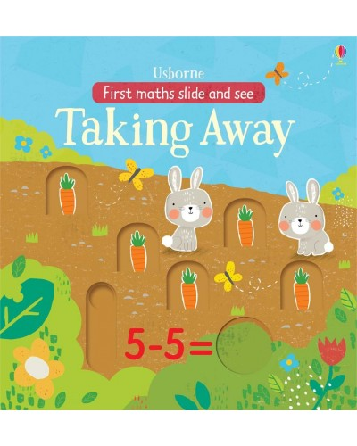 Slide and see Taking away -  First maths slide and see