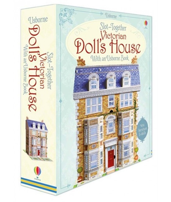 Slot-together Victorian doll's house -  Slot-together models