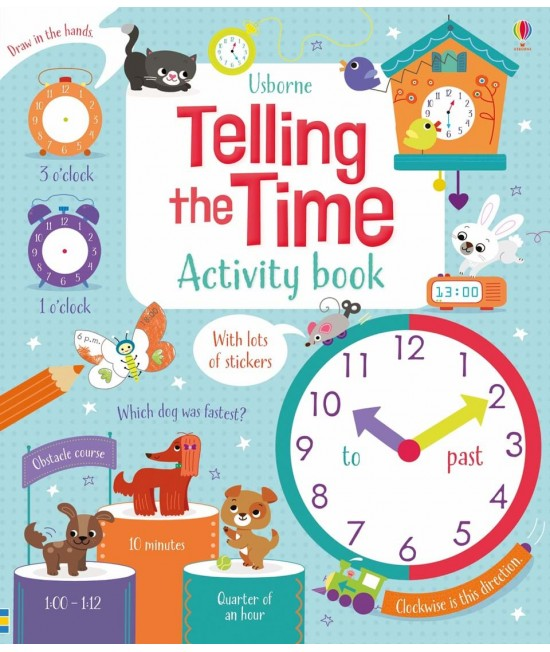 Telling the time activity book - Maths activity books