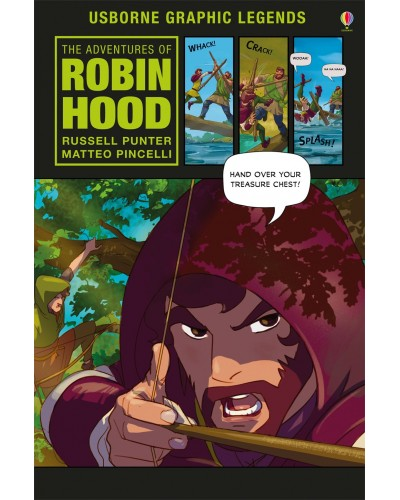 The Adventures of Robin Hood - Usborne Graphic Novels
