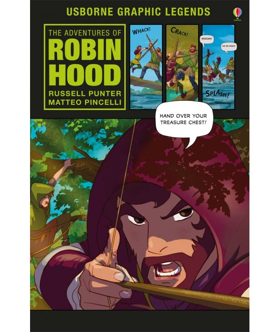 The Adventures of Robin Hood - Usborne Graphic Novels