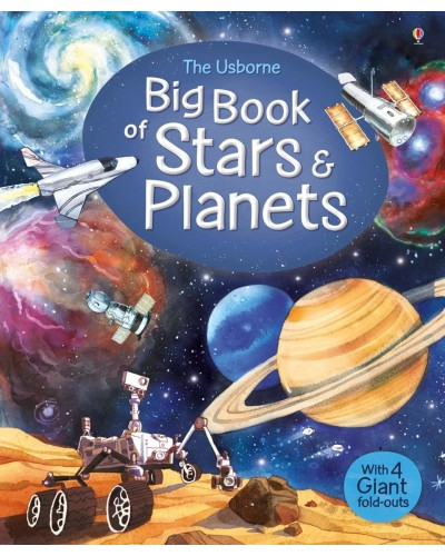 The Usborne Big Book of Stars and Planets