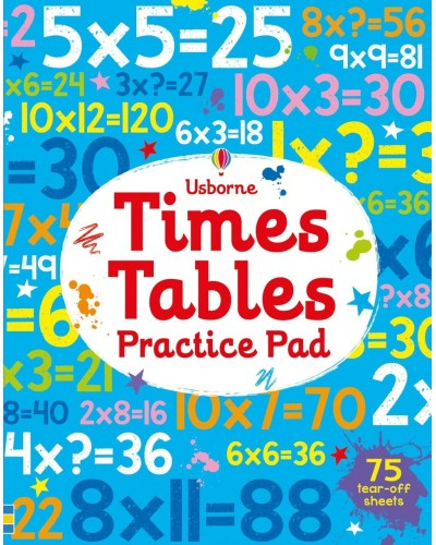 Times tables practice pad - Activity Pads