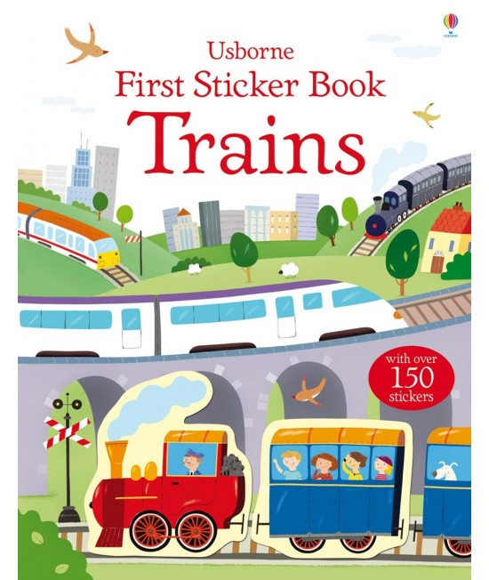 Trains - Usborne First Sticker Book - Sam Taplin