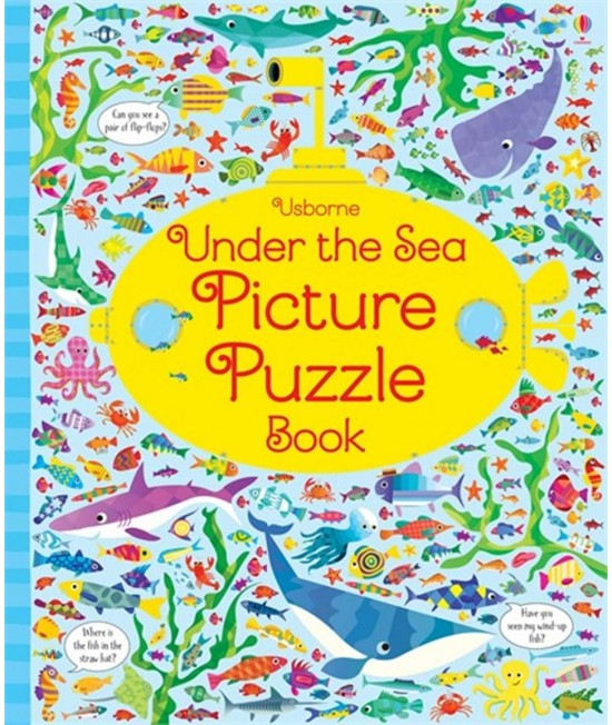 Under the Sea Picture Puzzle Book - Usborne Picture puzzle books