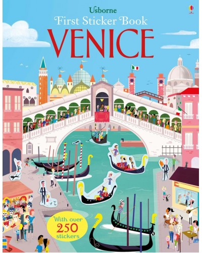 Venice - Usborne First Sticker Book