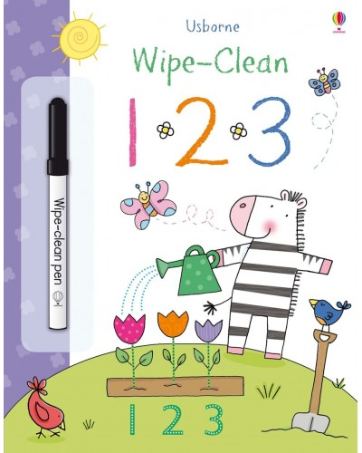 Wipe-clean 1 2 3 - Usborne Wipe-clean learning