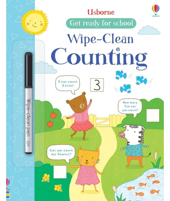 Wipe-clean Counting - Get ready for school wipe-clean books
